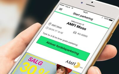 Ny parkerings app Amfi
